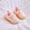 basket chausson bébé rose