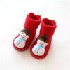 Chaussettes de Noel pour Bébé Bonhomme de neige