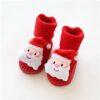 Chaussettes de Noel pour Bébé Père Noël