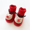 Chaussettes de Noel pour Bébé renne de Noël