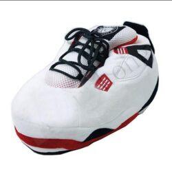 chausson basket homme blanc