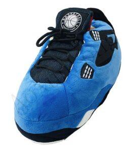 chausson basket homme bleu