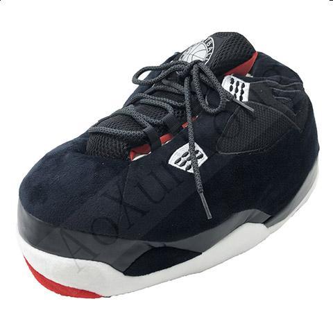 chausson basket homme noir