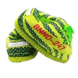 chausson basket vert