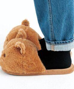 chausson chat de côté