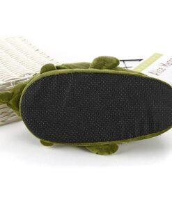 chausson crocodile qui ouvre la bouche semelle