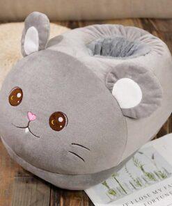 chausson géant animaux souris