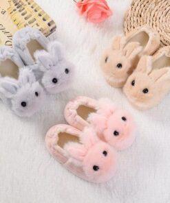 chausson lapin bébé