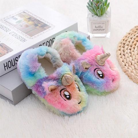 chausson licorne bebe drole