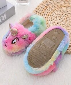 chausson licorne bebe semelle