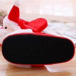 chausson de Noël homme semelle