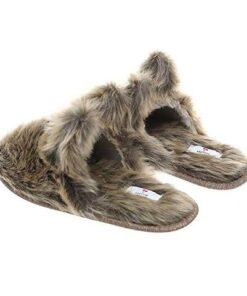 chausson ours vue arrière
