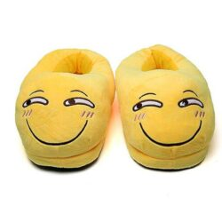 chausson smiley amusé