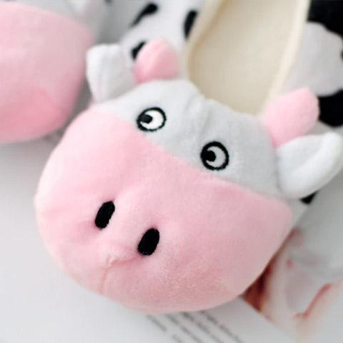chausson vache femme zoom
