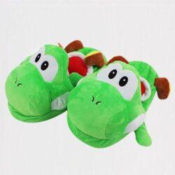 pantoufle dinosaure