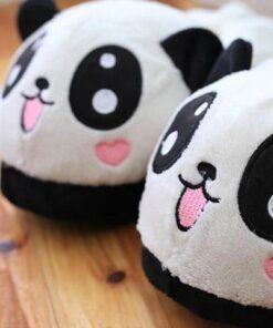 pantoufle panda zoom