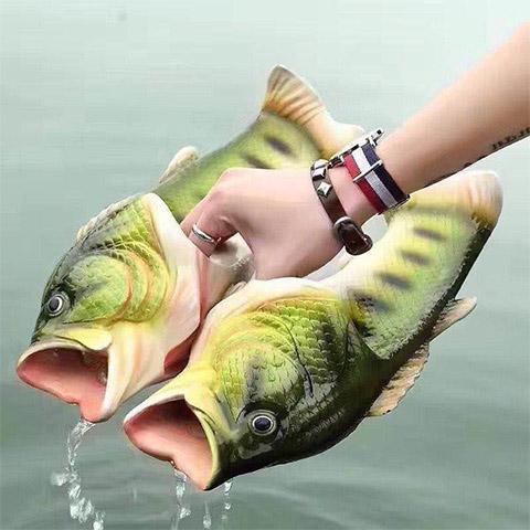pantoufle poisson