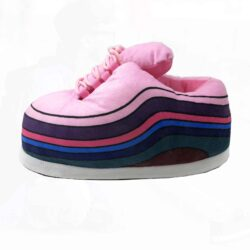 chausson sneakers rainbow pink