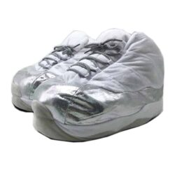 chausson sneakers 11 retro metallic silver