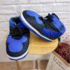 chausson sneakers bleu