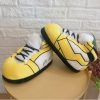 chausson sneakers jaune