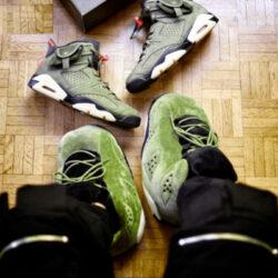 chausson sneakers jordan retro army