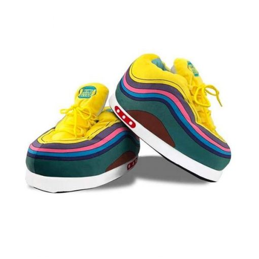 chausson sneakers rainbow