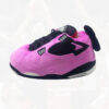 chausson sneakers jordan bred pink